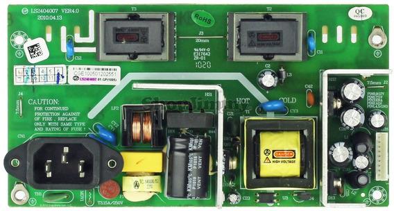 Power Supply Para Tv Coby Modelo De Tarjeta Ls2404007