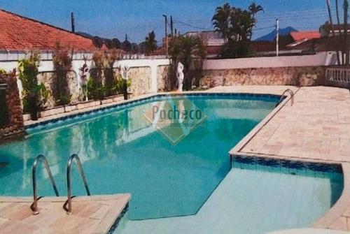 Casa Em Mongaguá 780 M², 4 Dormitórios , 2 Suítes, 5 Vagas, Piscina E Churrasqueira R$ 790.000,00 - 2713
