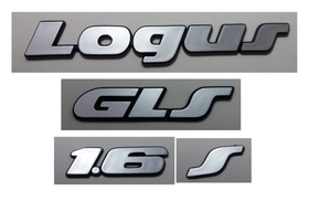 Kit Emblema Volkswagen Logus Gls S 1.6 91  92 93 94 94 96 97