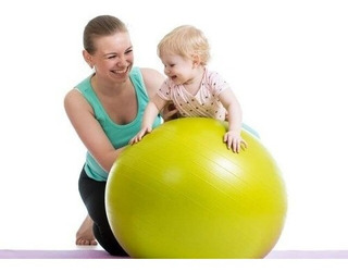 Pelota Ideal Para Estimulacion De Niños Niñas De 60cm