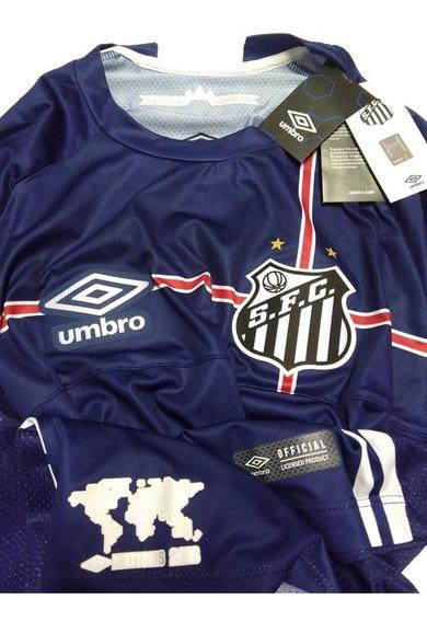 Camisa Santos Game Jogador Oficial Umbro Nations 2018 C/ Nf
