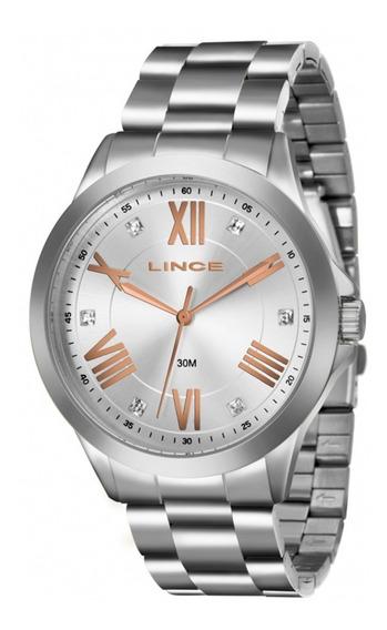 Relógio Feminino Lince Lrmj046l - S3sx Lindo E Barato C/ Nf