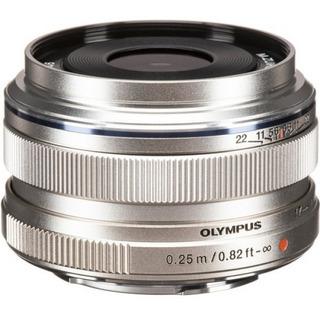 Lente Olympus 17mm F/1.8 Plata