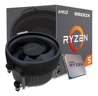 Procesador - Amd Ryzen 5 2600x - 4.2ghz - Wraith Spire