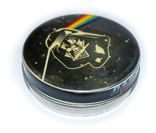 Imagen 1 de 3 de Pastillero Metálico Multiuso Darth Vader Pink Floyd