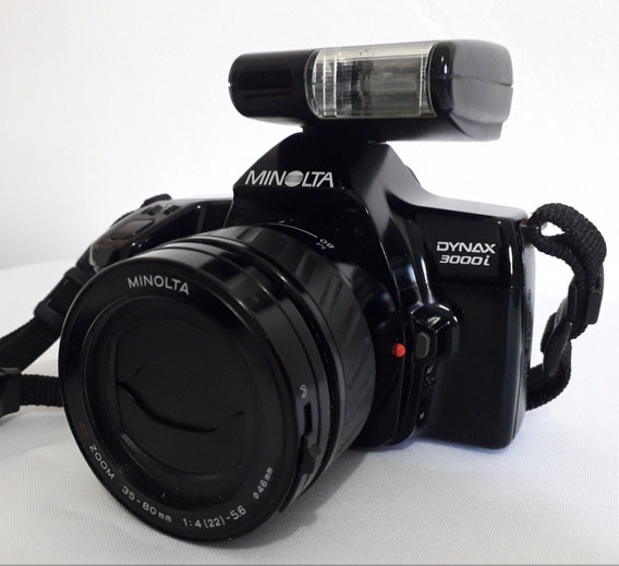 Câmera Analógica Minolta Dynax 3000i Usada