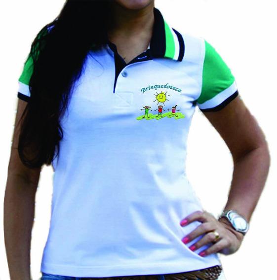 Camisa Gola Polo Brinquedoteca Bordada