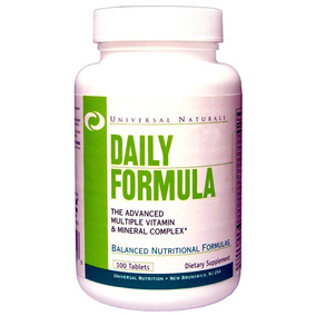 Daily Formula 100 Tabletes Universal.