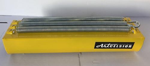 Reco Reco - Alumínio  De 03  Molas - Amarelo