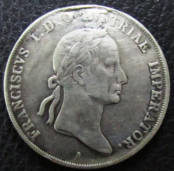 Austria Moneda 1 Thaler 1833 Vf- Plata Franz I I