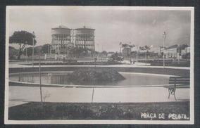 Foto Postal Anos 50 Praça De Pelota, Caixa D