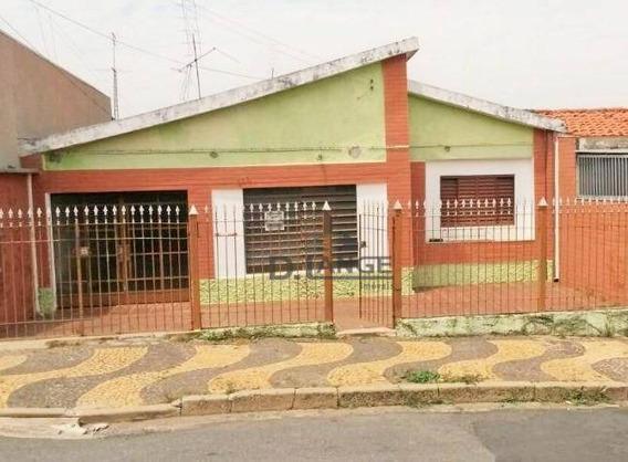 Casa Com 3 Dormitórios À Venda, 187 M² Por R$ 300.000,00 - Vila Marieta - Campinas/sp - Ca11329