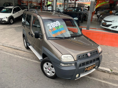 Fiat Doblo 1.8 Adventure Locker Flex 5p 2009 6 Lugares