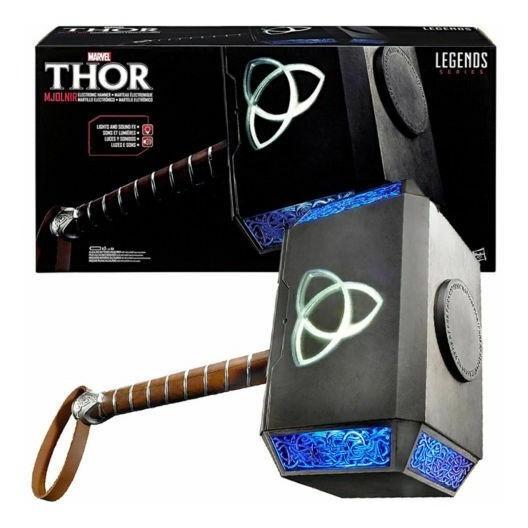 Marvel Legends Series Mjolnir Martillo Thor Electrónico 50cm
