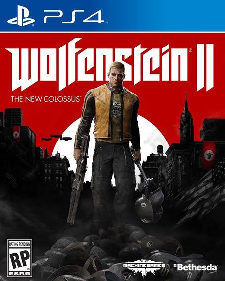 Wolfenstein 2 The New Colossus Ps4 100% Português