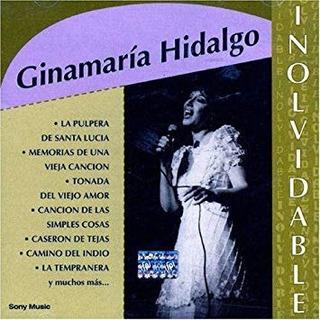 Cd Ginamaria Hidalgo Inolvidable Nuevo Sellado
