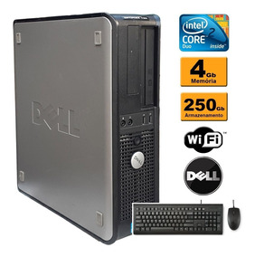 Dell Optiplex 780 Core 2 Duo E8400 3.0ghz 4gb Ddr3 Hd 250gb