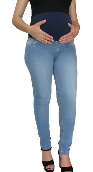 Calça Grávida Gestante Jeans - 38 Ao 50 - Se Compra 2 Leva 3