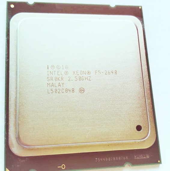 Intel Xeon E5-2640 Sr0kr Six Core De 2.5 Ghz