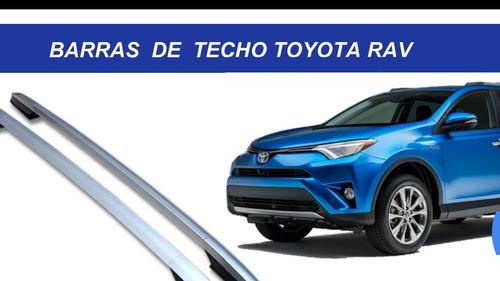 Imagen 1 de 4 de Barras De Techo Toyota, Antivolco
