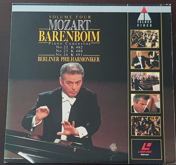 Ld Berliner Philharmoniker Daniel Barenboim Mozart Volume 4