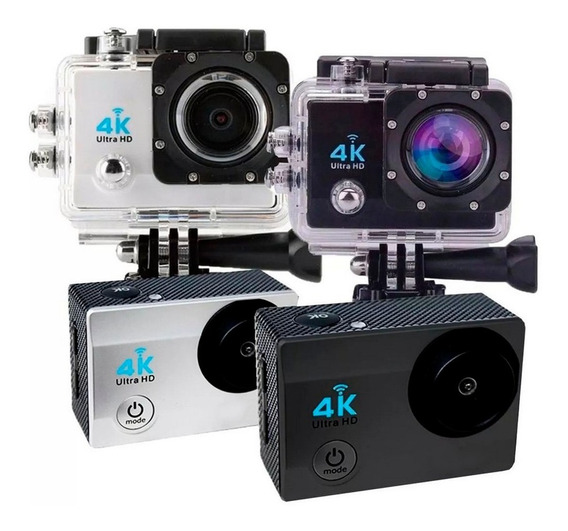 Câmera Action Filmadora Gocam Esportiva Hd Wi-fi 1080p 4k