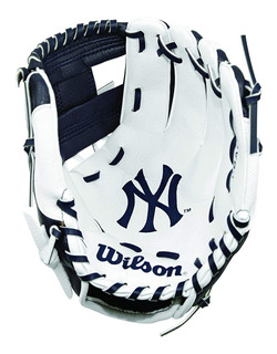 Guante Béisbol New York Yankees Azul Marino/blanco P/ Niños