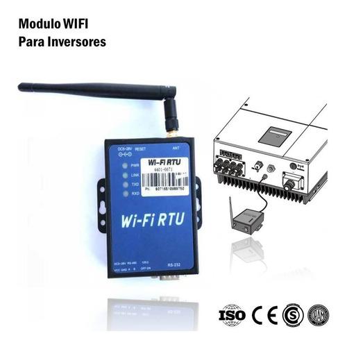 Modulo Wifi Para Inversores De Corriente. Pampa Renovable