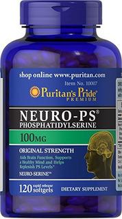 Neuro Ps Fosfatidilserina 100mg 120 Softgels Puritan