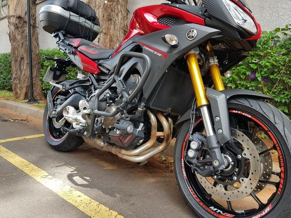 Yamaha Mt09 Tracer 850cc 2017/2017 (linda, Única E Im