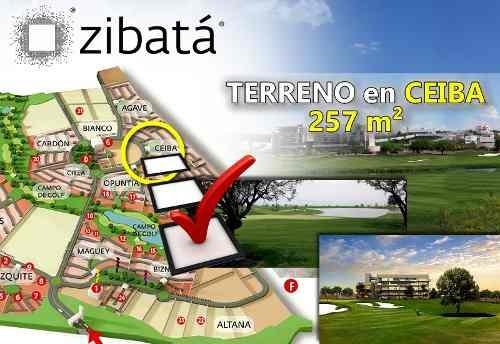 Oportunidad.- Gran Terreno De 257 M² En Zibatá, Fracc. Ceiba, Ganelo!
