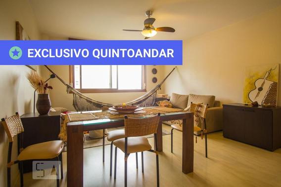 Apartamento No 3º Andar Mobiliado Com 2 Dormitórios E 1 Garagem - Id: 892983558 - 283558