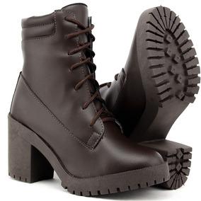 4f280cdcc8 Ankle Boot Tratorada Feminino - Sapatos no Mercado Livre Brasil