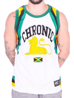 Camiseta Regata Basquete Jamaica Roots Reggae Chronic