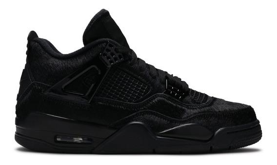 Air Jordan 4 Retro Black Cat 1 0g 3 5 6 7 8 9 11 14 Kobe