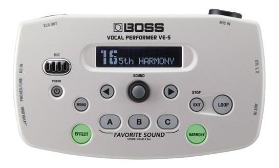 Processador Boss Ve5 Wh
