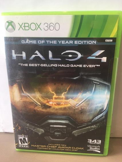 Halo 4 Xbox 360 Midia Fisica Usado