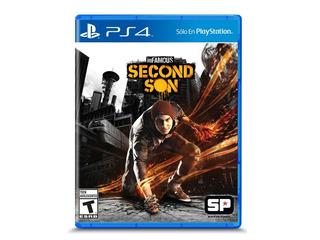 Juego Infamous Second Son Ps4 Playstation 4 Fisico Sellado