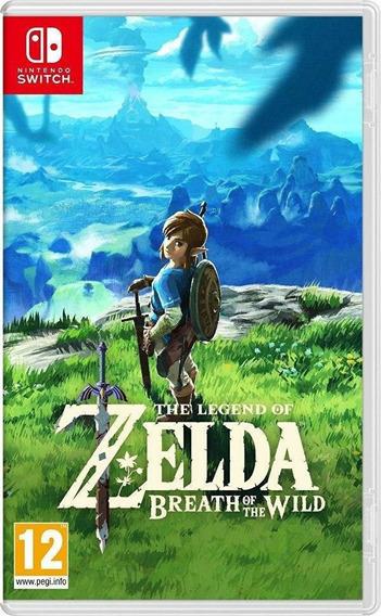 Zelda Breath Of Wild Locação 30 Dias Digital Switch