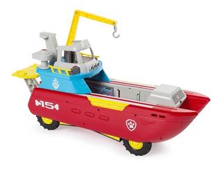 Paw Patrol Sea Patrol Barco Nuevo Luces Sonidos Patroller