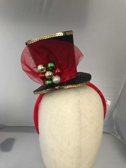 Diadema Fiesta Sombrero Navideño