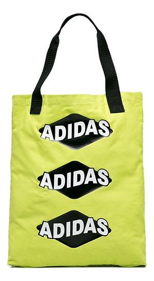Bolsa adidas Originals Shopper Bodega Verde Limão - Único -