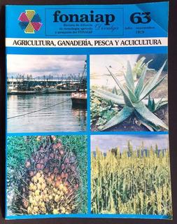 Colección Revista Fondo Nac De Inv Agropecuarias # 1 - 63