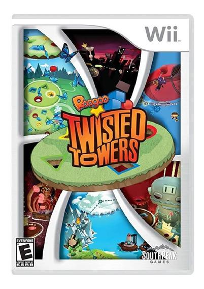 Jogo Lacrado Midia Fisica Roogoo Twisted Towers Nintendo Wii
