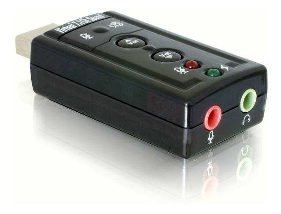 Placa De Sonido Usb Externa 7.1 Audio Surround 3d Videcom