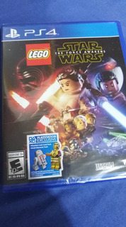 Lego Star Wars The Force Awakens Ps4 Nuevo Sellado