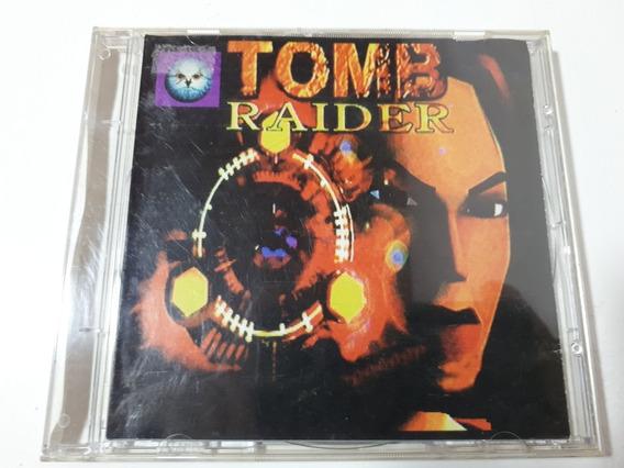 Tomb Raider Playstation One Ps1 Patch Prateado Prensado A