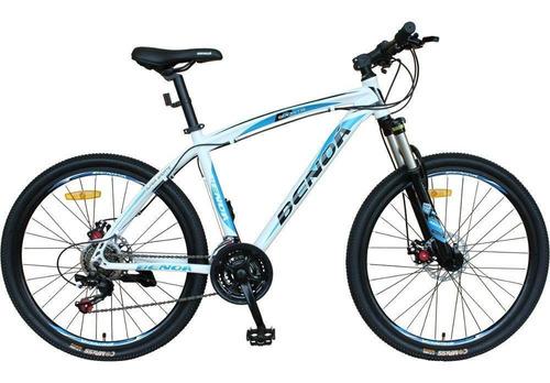 Bicicleta Benoá 21 Marchas Aro 26 Com Suspensão