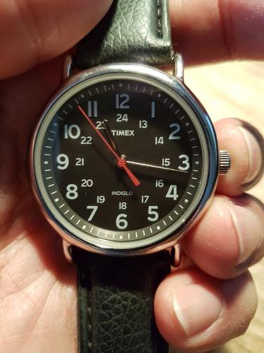 Relógio Timex Indiglo Weekender Vidro Mineral - Original