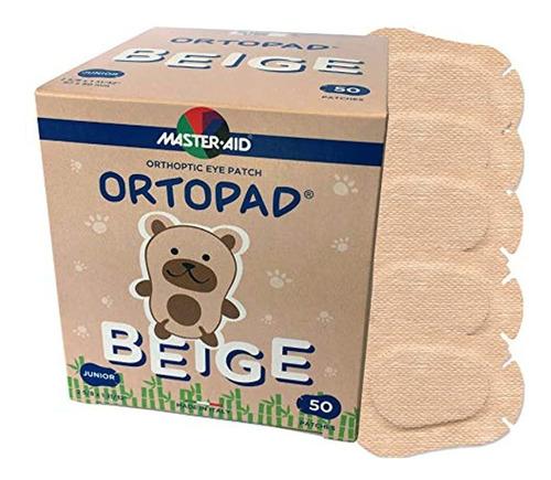 Ortopad® Bambú Beige, Tamaño Junior, 50/caja